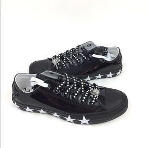 Converse Shoes - NEW Converse CTAS Ox Black Miley Cyrus Shoes Black